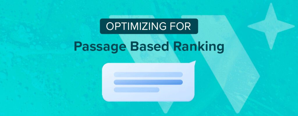 Optimizing for passage based ranking header